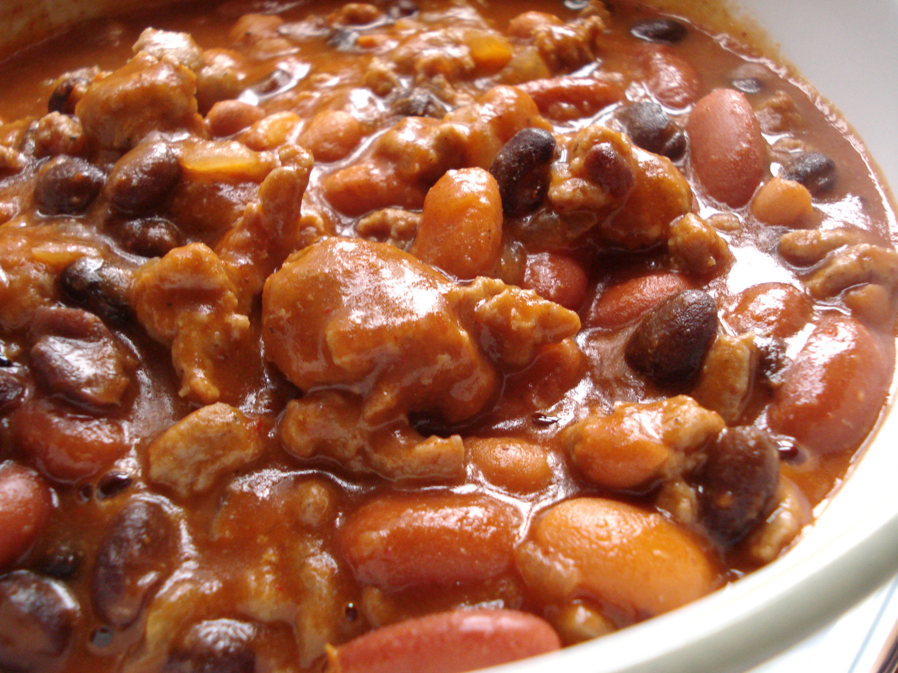Three bean chili easy recipes
