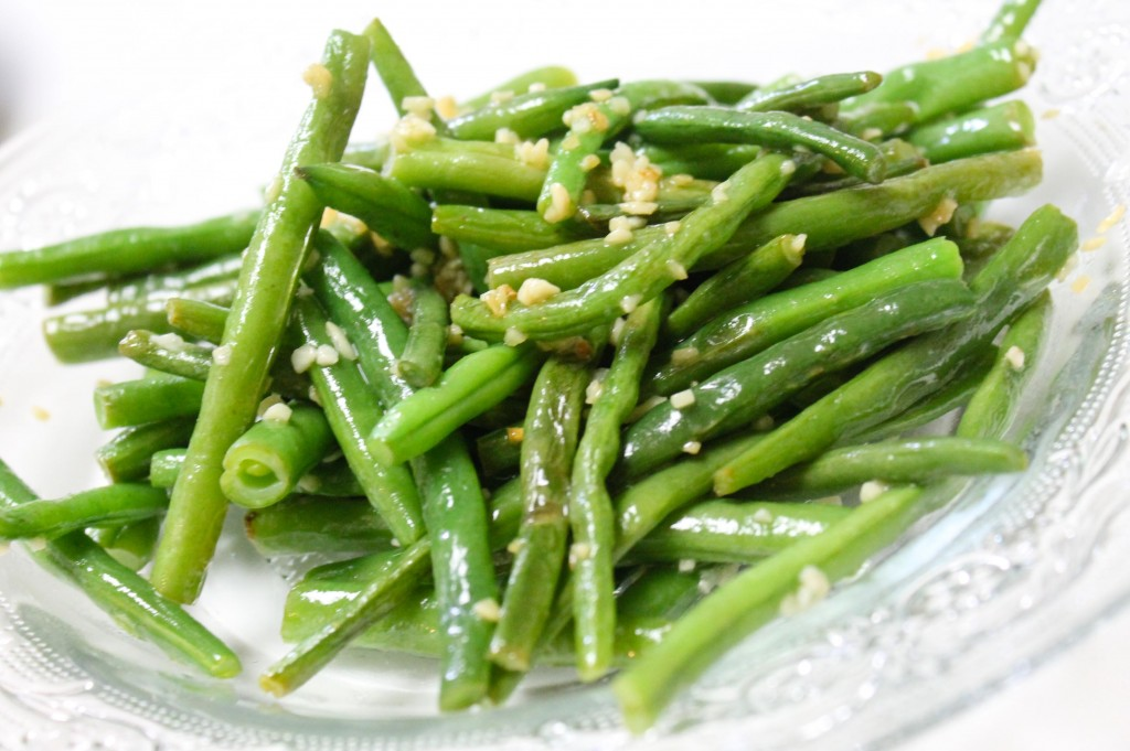 Garlicy Green Beans | Earn. Eat. Save. Stretch