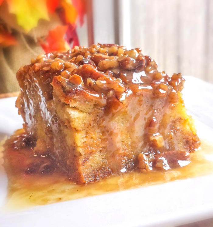 ... Recipe – Southern Style Peach Bread Pudding with Lemon Bourbon Sauce